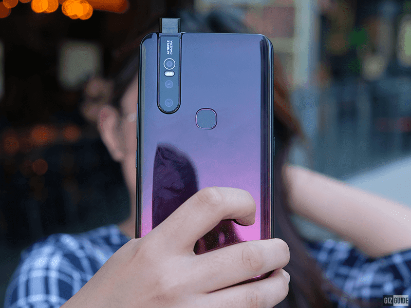 What is our first take for the Vivo V15?