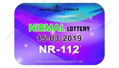 KeralaLotteryResult.net, kerala lottery kl result, yesterday lottery results, lotteries results, keralalotteries, kerala lottery, keralalotteryresult, kerala lottery result, kerala lottery result live, kerala lottery today, kerala lottery result today, kerala lottery results today, today kerala lottery result, Nirmal lottery results, kerala lottery result today Nirmal, Nirmal lottery result, kerala lottery result Nirmal today, kerala lottery Nirmal today result, Nirmal kerala lottery result, live Nirmal lottery NR-112, kerala lottery result 15.03.2019 Nirmal NR 112 15 March 2019 result, 15 03 2019, kerala lottery result 15-03-2019, Nirmal lottery NR 112 results 15-03-2019, 15/03/2019 kerala lottery today result Nirmal, 15/03/2019 Nirmal lottery NR-112, Nirmal 15.03.2019, 15.03.2019 lottery results, kerala lottery result March 15 2019, kerala lottery results 15th March 2019, 15.03.2019 week NR-112 lottery result, 15.03.2019 Nirmal NR-112 Lottery Result, 15-03-2019 kerala lottery results, 15-03-2019 kerala state lottery result, 15-03-2019 NR-112, Kerala Nirmal Lottery Result 15/03/2019