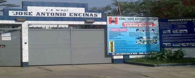 CEBA 1137 JOSE ANTONIO ENCINAS - Santa Anita