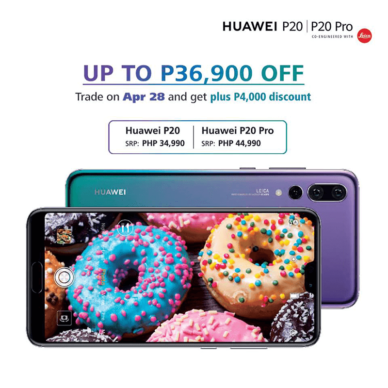 Huawei announces P20 series trade-in promo, enjoy up to PHP 36,900 off