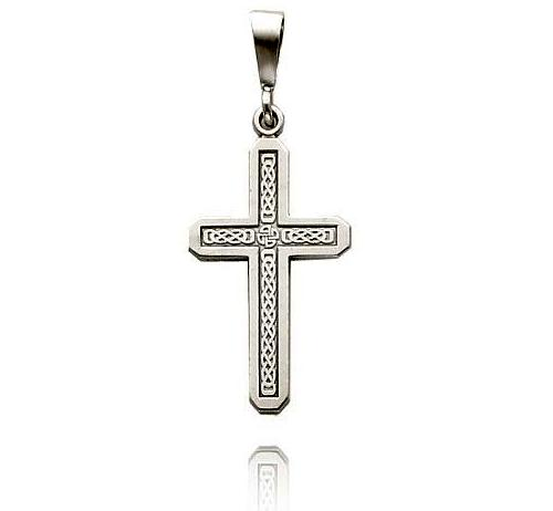 White Gold Cross