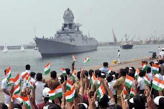 navy-s-warship-ship--ins-chennai--reached-chennai