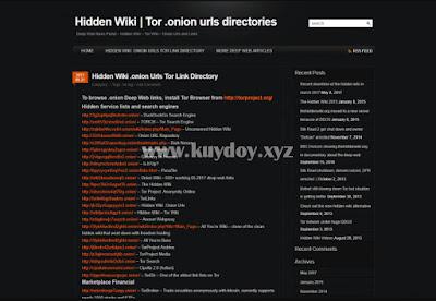 Kumpulan Link Hidden Wiki Deepweb 2019