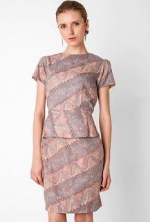 Dress Batik Kantor untuk Kerja