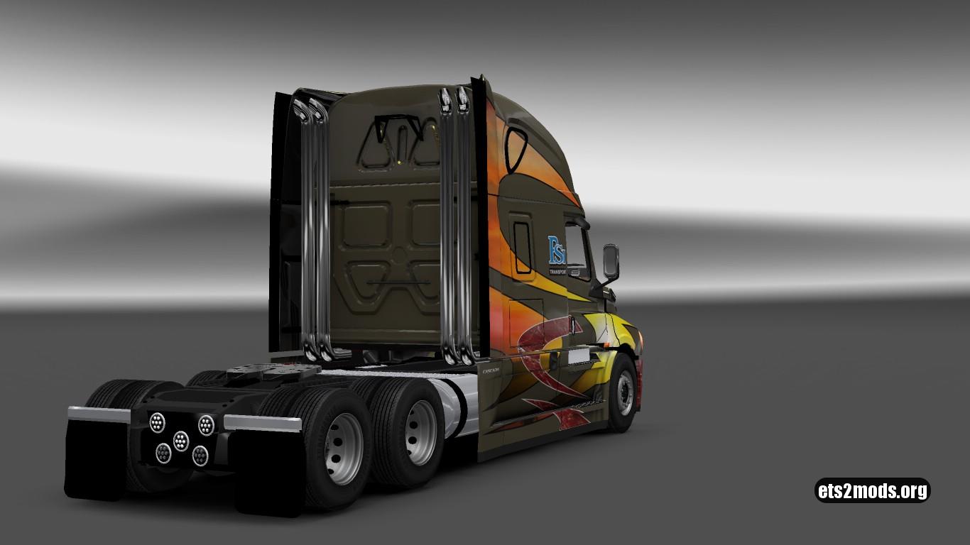 PSI Transport Skin for Freightliner Cascadia 2018