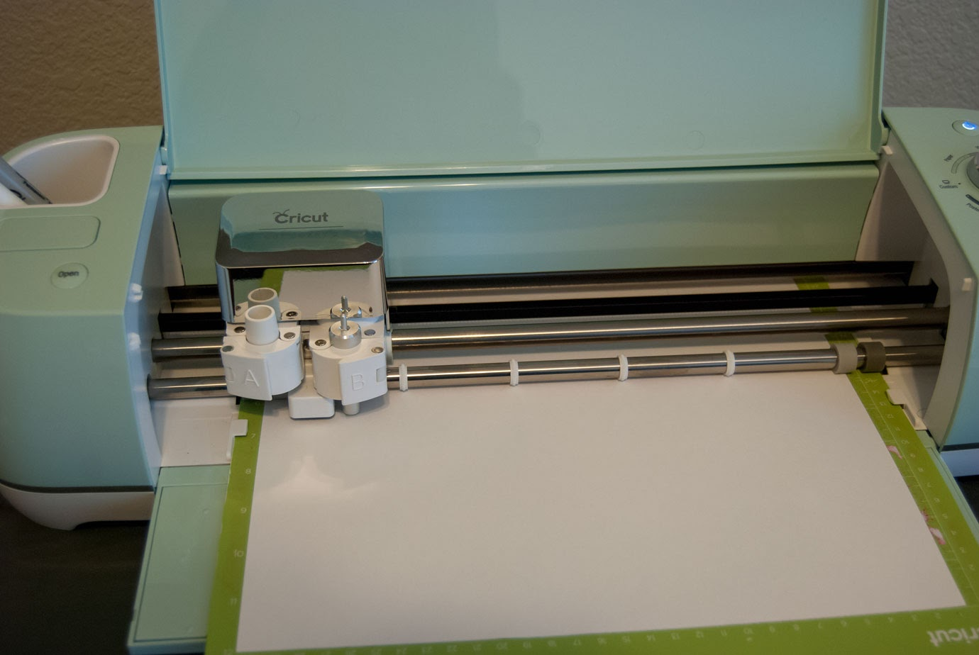 Cricut Machine Cutting Out Letters and Numbers
