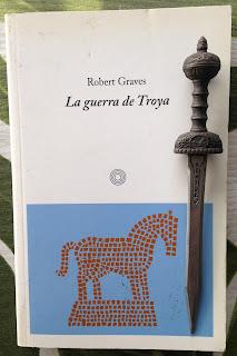 Portada del libro La guerra de Troya, de Robert Graves