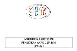 Instrumen Akreditasi Paud 2018