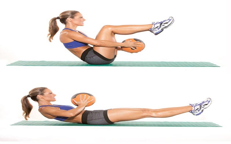 Medicine Ball Sit-Up | Health and Fitness Bible