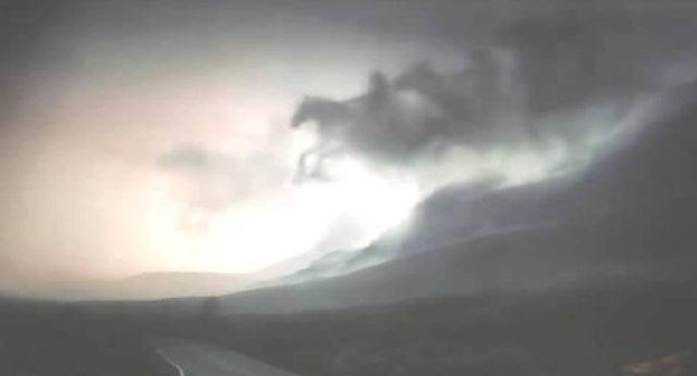 The Four Horsemen Appears in the Sky Over Malaysia Caught on Video