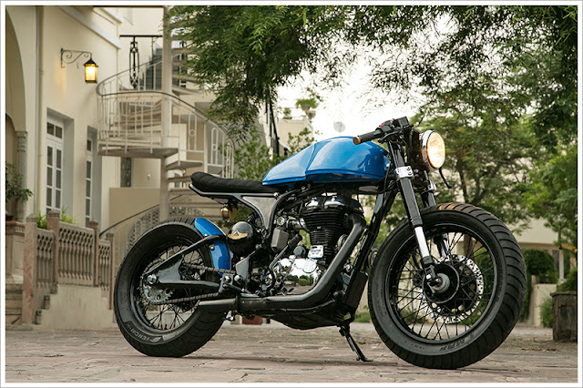 Rajputana Customs Numero Uno Cafe Racer