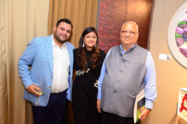 Left to Right- Mr Akshay Gupta, Anushree Gupta, Anil Mittal
