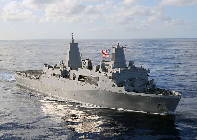 Huntington Ingalls CEO Urges Speedup of U.S. Navy's Next Amphibious Ship Program