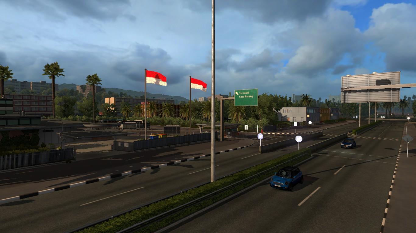 Pejindo Blogs Mod Ets2 Map Peta Indonesia Free Download Lengkap Euro Truck Simulator 2 V130 Dan Pj Indo