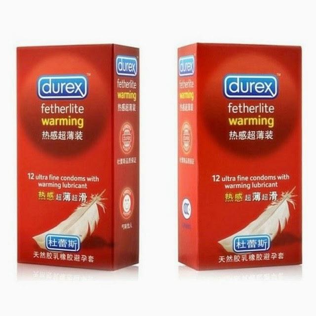 Preservativos durex® falsificados