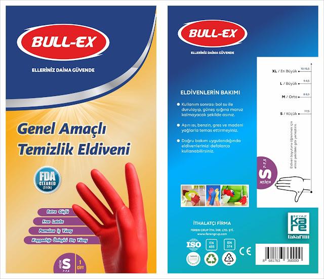 eldiven ambalaj tasarımı