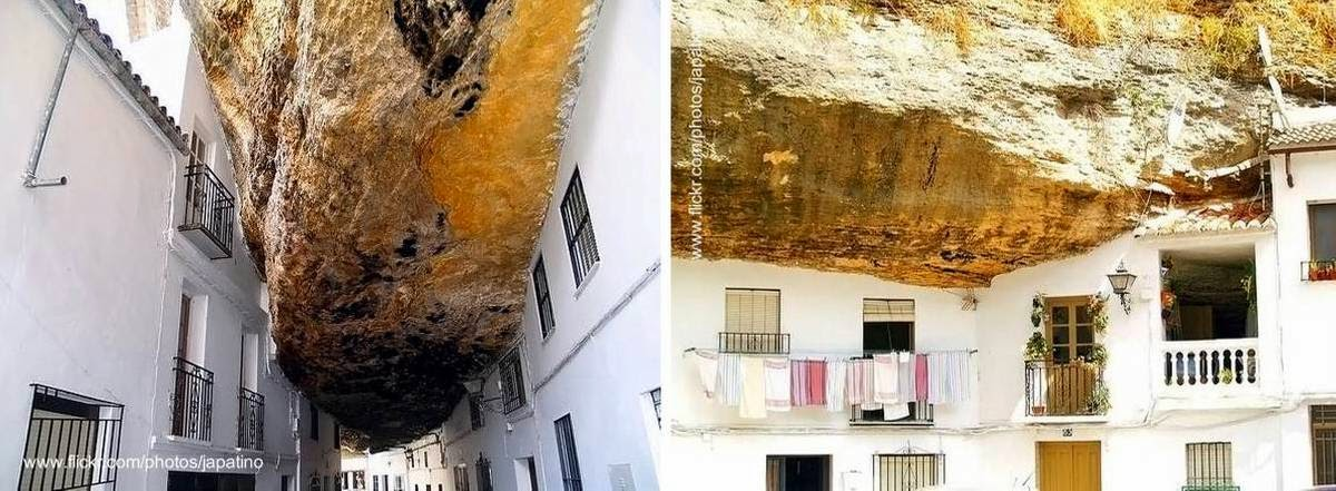 Arquitectura de casas casas andaluzas en cuevas de for Fotos de fachadas de casas andaluzas