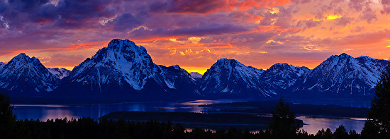 "Susan Fowler Fine Art: ""Teton Sunset"" Original Colorado ..."