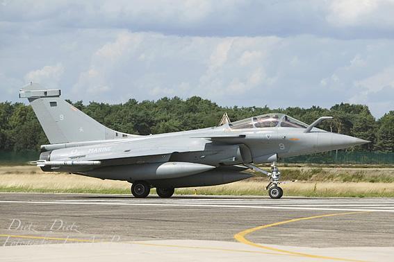 Rafale M 9 der französischen Marineflieger an einer Nato-Übung in Belgien