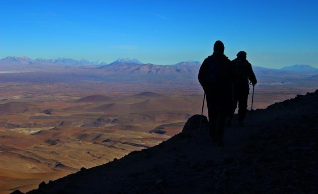 Tras los pasos de Macario, en el volcán Uturuncu