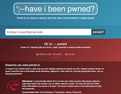Have I Been Pwned Authentication Module