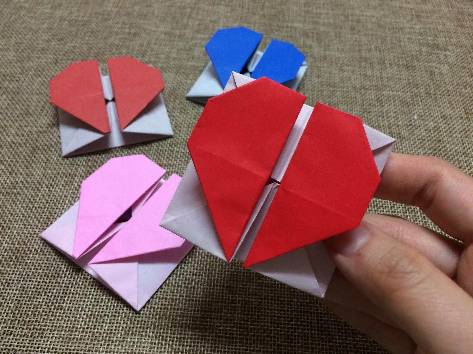 Tutorial 4 Origami Love Letter