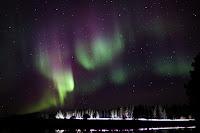 Zorza polarna sfotografowana 28.09.2017 z Posio, na północy Finlandii. Credits: Samuel Pirttikangas