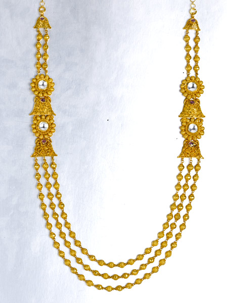 Light weight gold necklace sets
