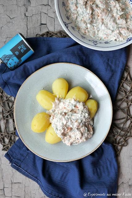 Kartoffeln mit Stremellachs-Dip | Rezept | Kochen | Essen | Weight Watchers