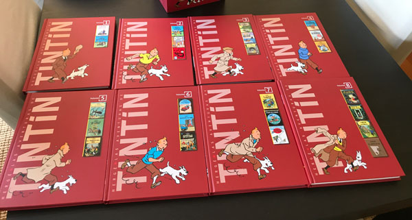 Las aventuras de Tintín Colección Completa 3