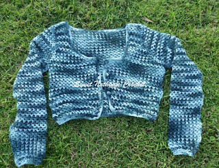 free crochet ladies cropped sweater pattern