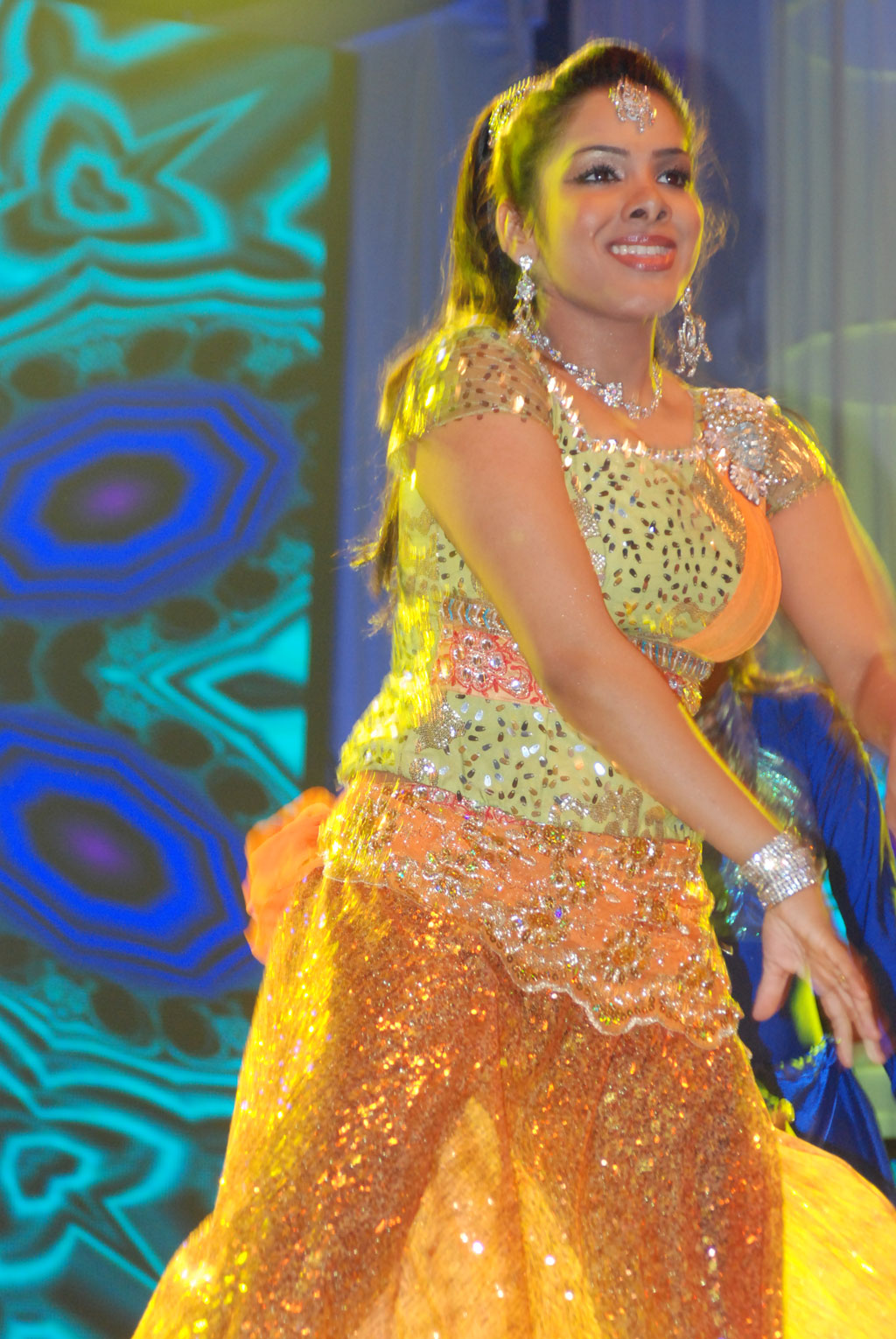 Hot And Spicy Images Sandhya Dance At Women Entertainers -6346