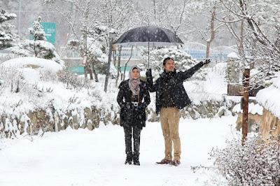 Musim dingin di Korea Selatan