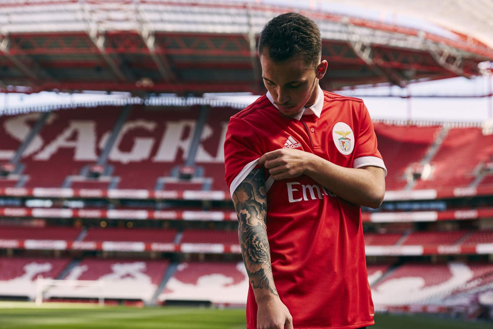 Benfica 17 18 Home Kit Revealed Footy Headlines