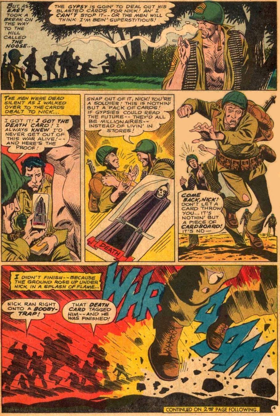 The Daily Kirby: Joe Kubert Depicted The First Tarot Card