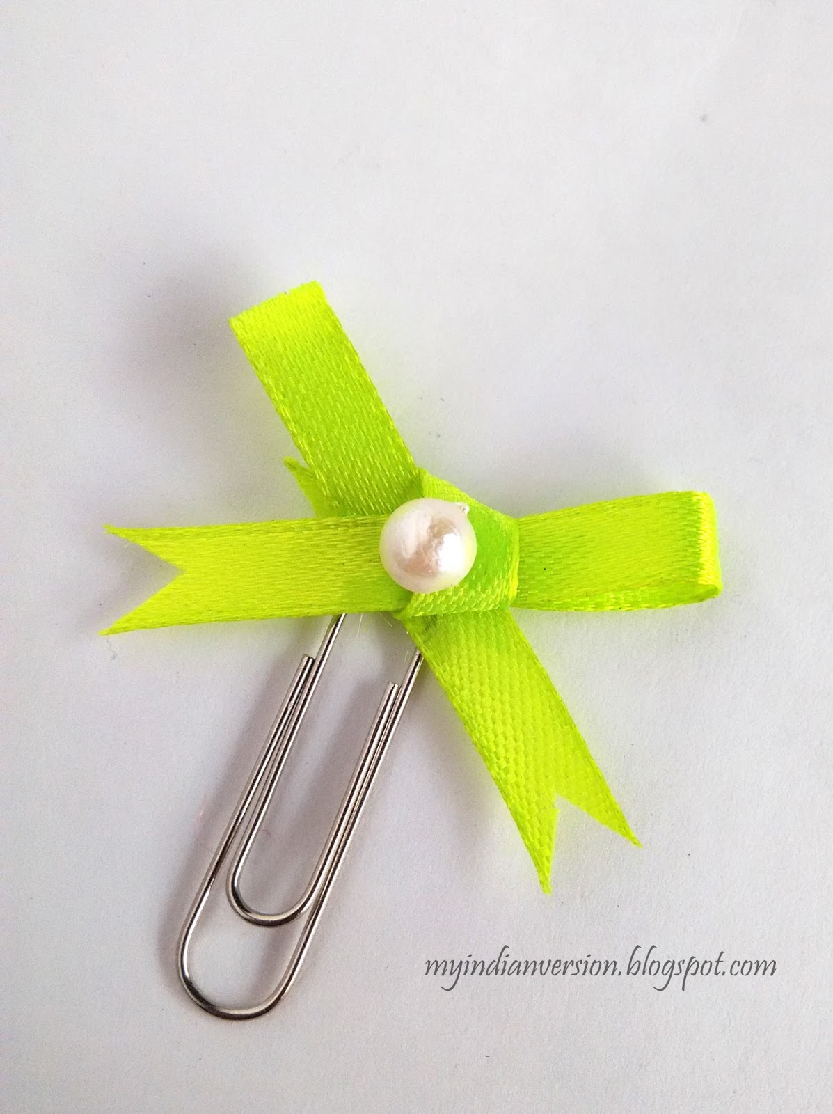My indian version diy bookmarks in 10 different ways for How to tie a ribbon on a bookmark