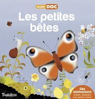 Les petites bêtes - Anim'DOC -  EDITIONS TOURBILLON - Première de couverture
