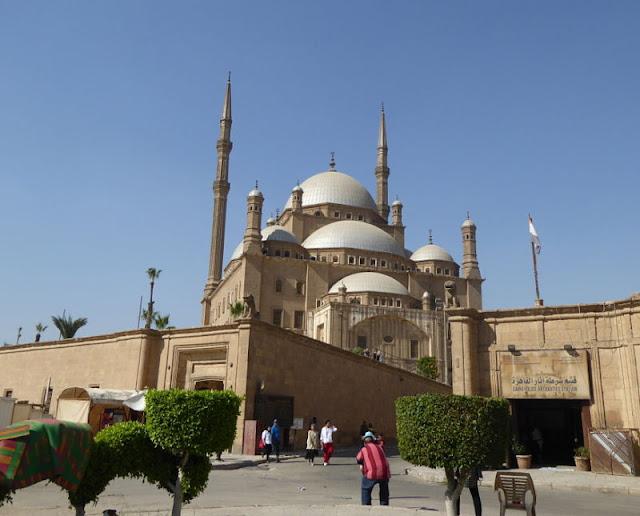 moschea muhammad ali nella cittadella del cairo