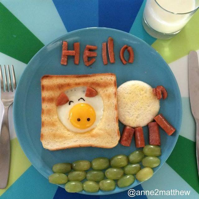 Criatividade no prato da manhã