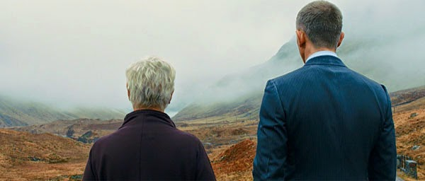 Daniel Craig and Judi Dench in Skyfall