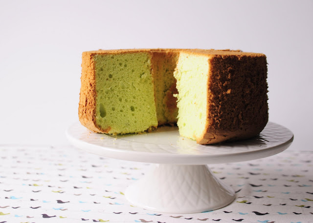 How to make Pandan Chiffon Cake