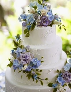 Types of Wedding Cake pidamid