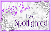 I was spotlighted at Delicious Doodles