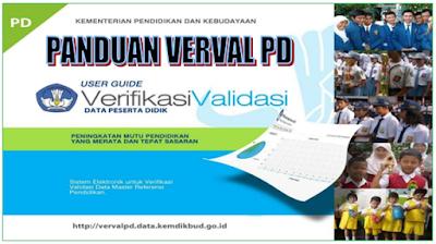 Verval PD ( Peserta Didik ) Untuk TK, SD, SMP, SMA/SMK