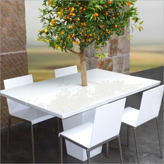 Futuristic Coffee Table With Fridge