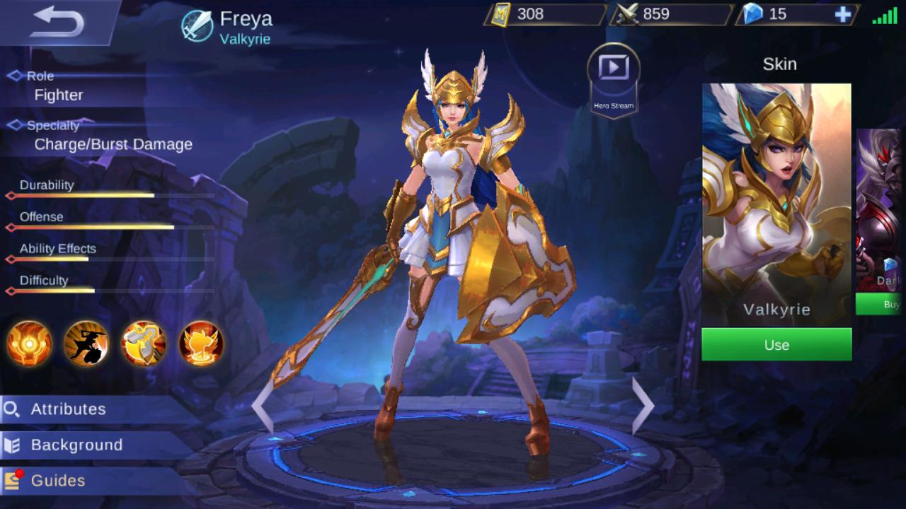Hero yang Dengan Mudah Mengalahkan Freya