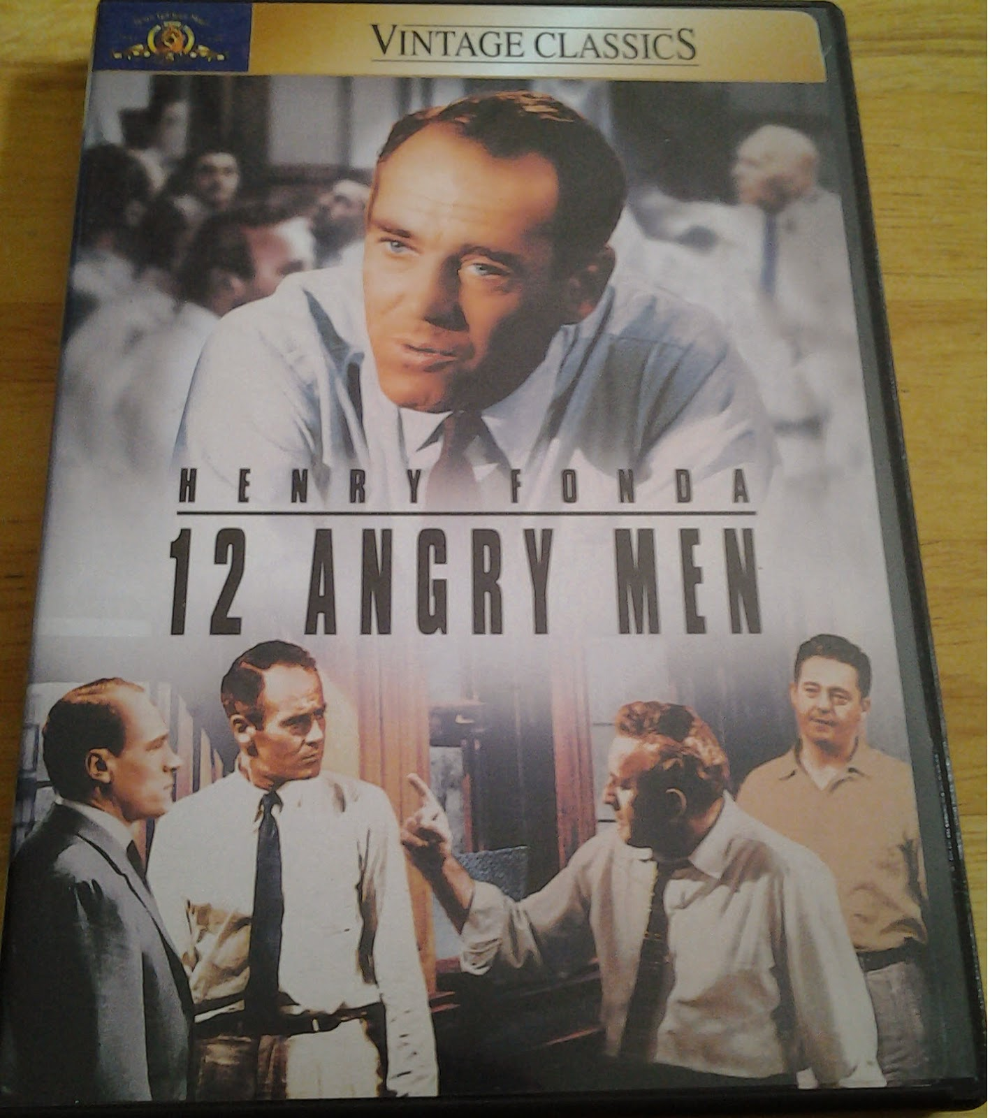 DVD Cover to 12 Angry Men