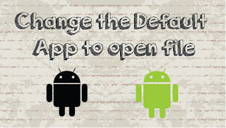 شرح تغيير التطبيقات الافتراضية على اندرويد