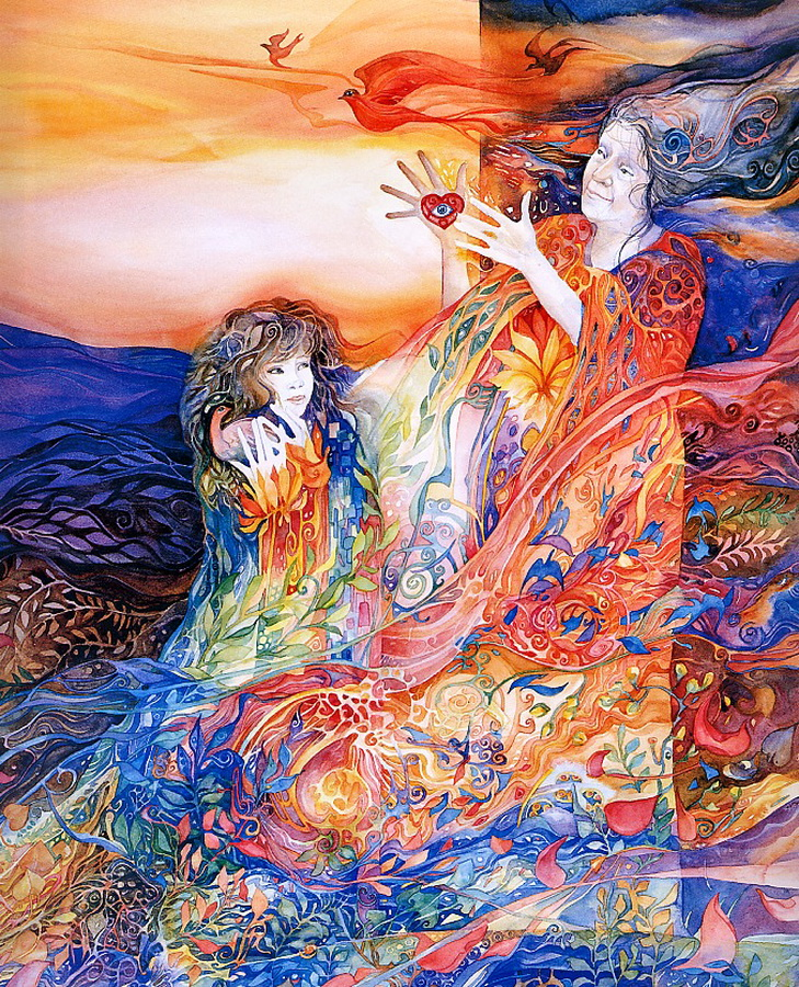 Helen Nelson-Reed   American Visionary Watercolor painter