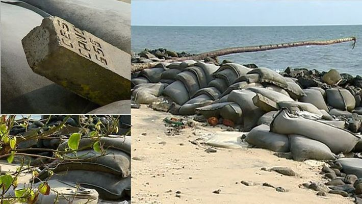 'Thomas Isaac's plan layer'; The sandwiched sand was replaced by stone,www.thekeralatimes.com